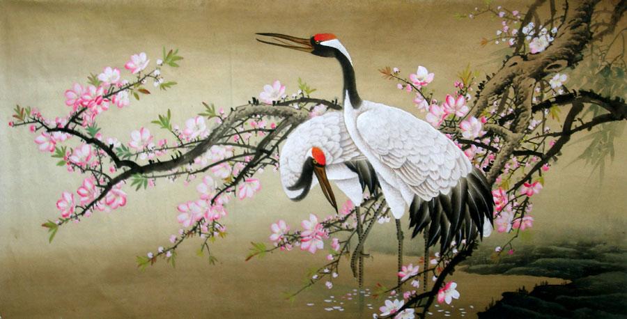 chinese-cranes