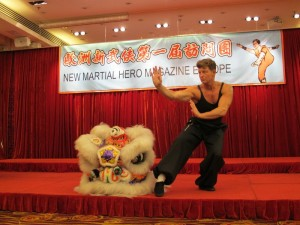 Sifu Carlo Tonti at Hong Kong